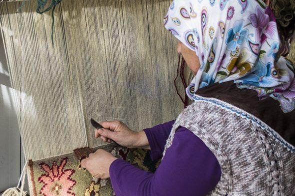 Turkish Carpet Craftmanship